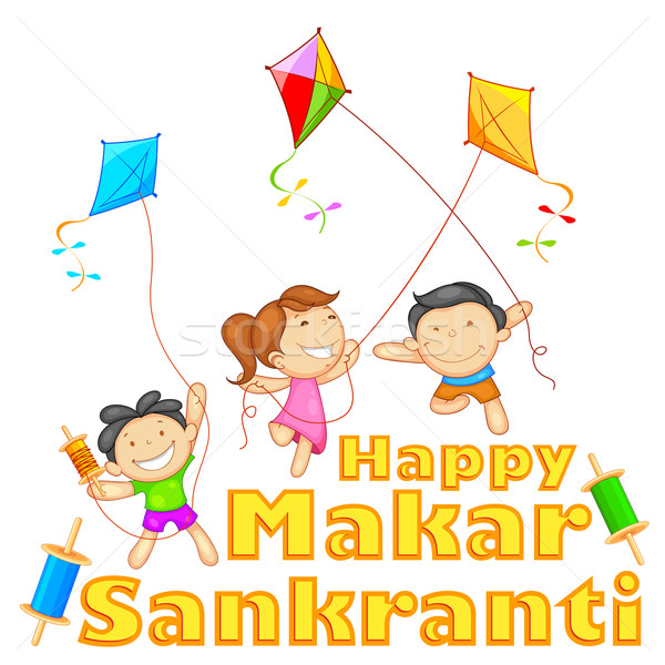 Makar Sankranti Stock photo © vectomart