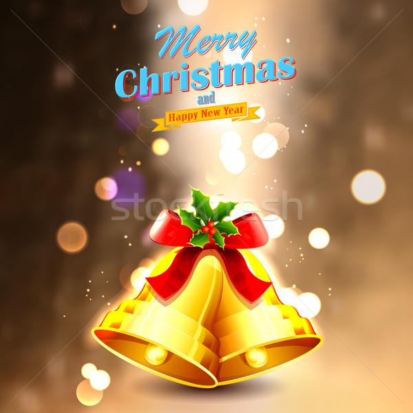 Jingle bells for Christmas decoration Stock photo © vectomart