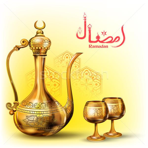 Ramadan hojny islam religijnych festiwalu Zdjęcia stock © vectomart