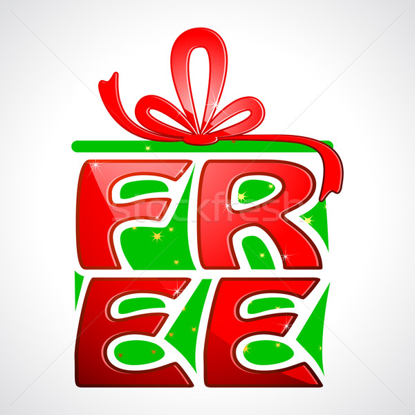 Free Gift Stock photo © vectomart