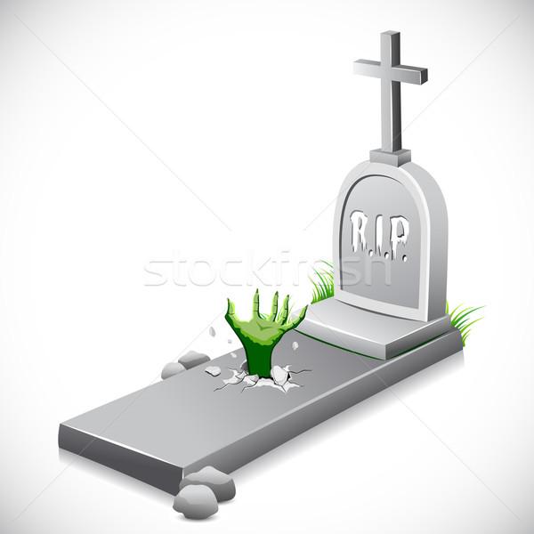 Grave Stone Stock photo © vectomart