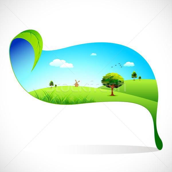 Ecofriendly Landscape Stock photo © vectomart