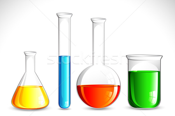 Laboratory Apparatus Stock photo © vectomart