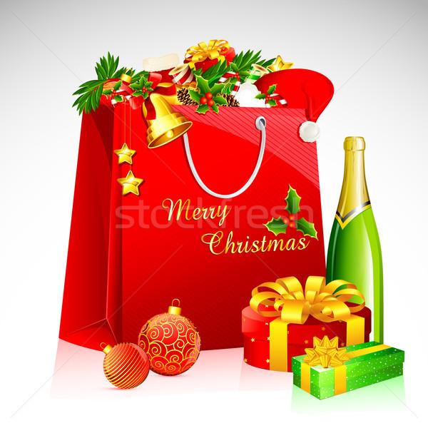 Christmas Goodies Stock photo © vectomart