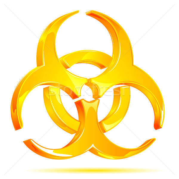Biohazard Symbol Stock photo © vectomart