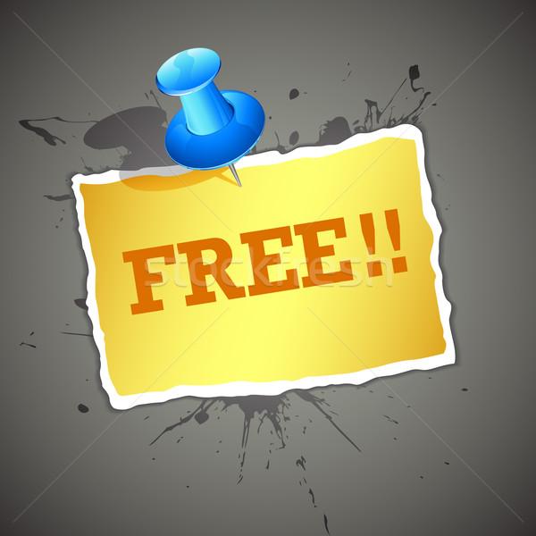 Free Coupon Stock photo © vectomart