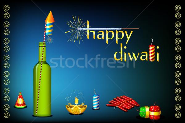 Diwali Card Stock photo © vectomart