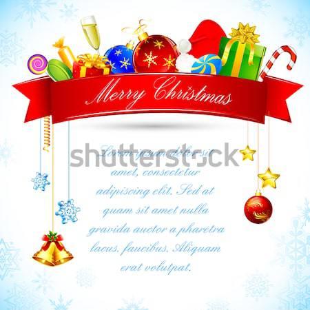 Christmas Background Stock photo © vectomart