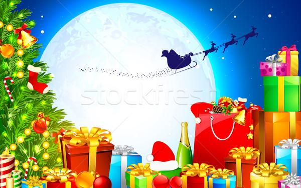 Christmas Gift Stock photo © vectomart