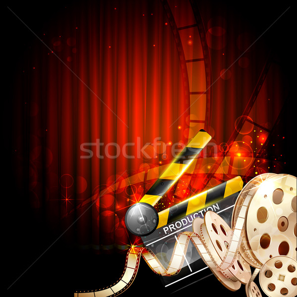 Cinema Background Stock photo © vectomart