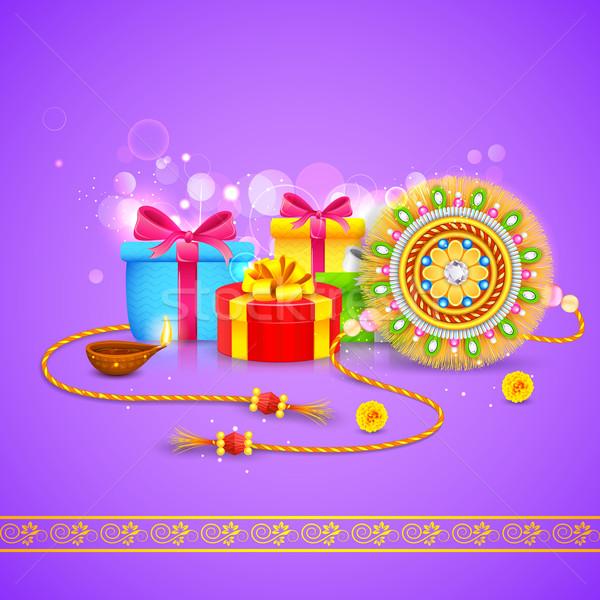 Raksha Bandhan Gift Stock photo © vectomart