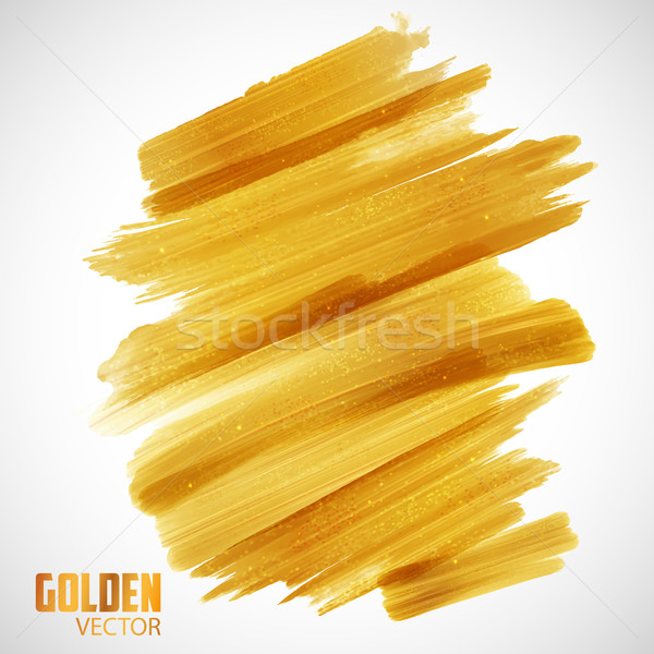 Shiny Glamorous Glittering Gold texture background Stock photo © vectomart