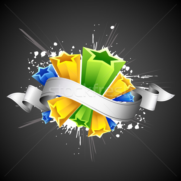 Abstract Colorful Star Stock photo © vectomart