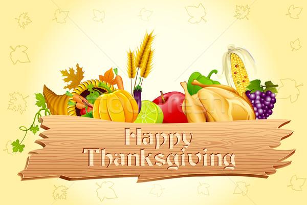 Thanksgiving Card Stock photo © vectomart