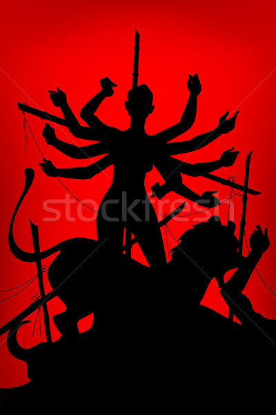 Durga Puja Stock photo © vectomart