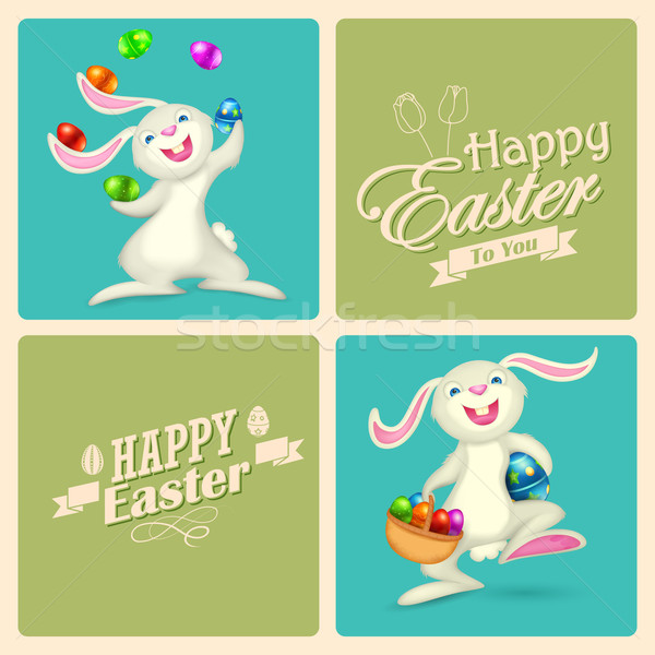 Happy Easter Stock photo © vectomart