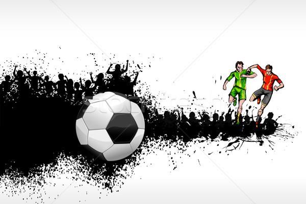 Soccer Player Stock photo © vectomart