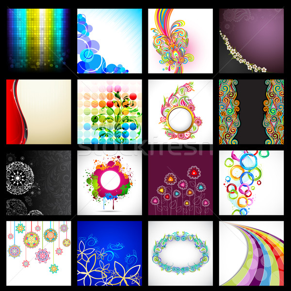 Vector Background Collection Stock photo © vectomart
