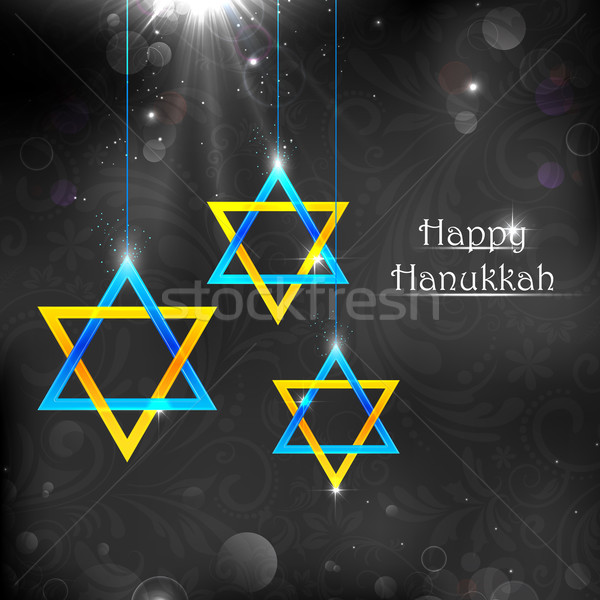 Happy Hanukkah Stock photo © vectomart