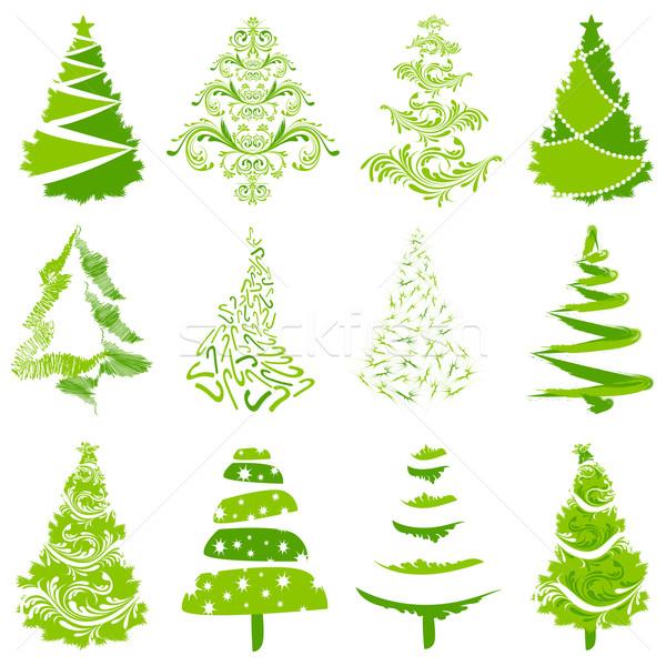 Christmas Tree Stock photo © vectomart