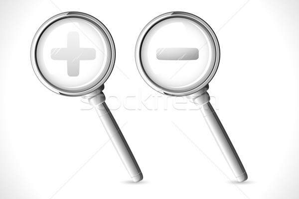 Magnifying Lense Stock photo © vectomart