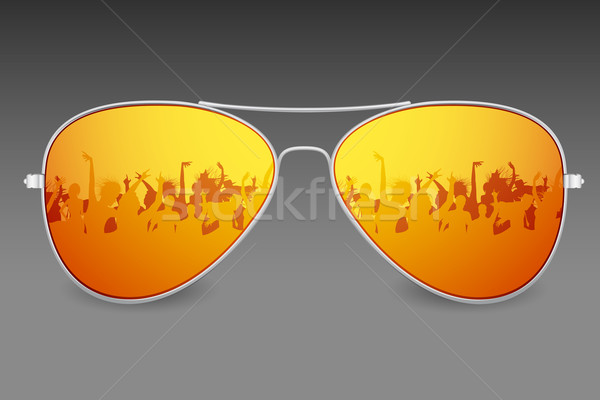 Sunglasses Stock photo © vectomart