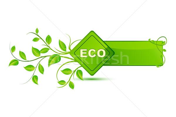 Eco Friendly Tag Stock photo © vectomart