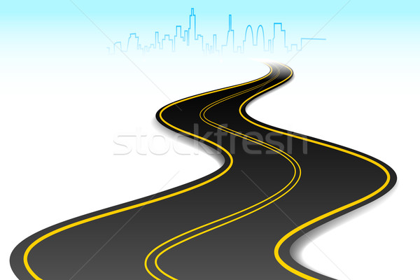 Road to Success Stock photo © vectomart