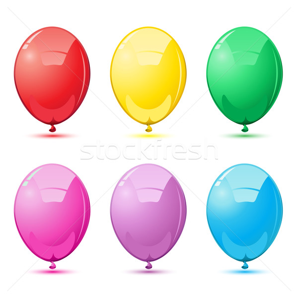 Colorful Balloons Stock photo © vectomart
