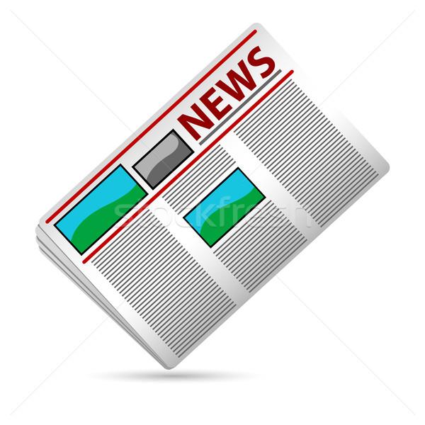 News Paper Stock photo © vectomart