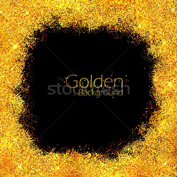 Parlak altın doku örnek arka plan Stok fotoğraf © vectomart