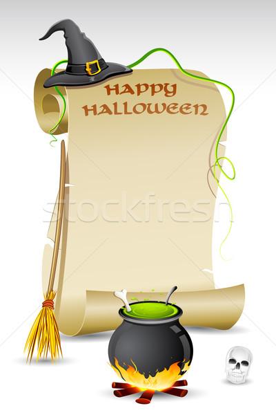 Halloween Card Stock photo © vectomart