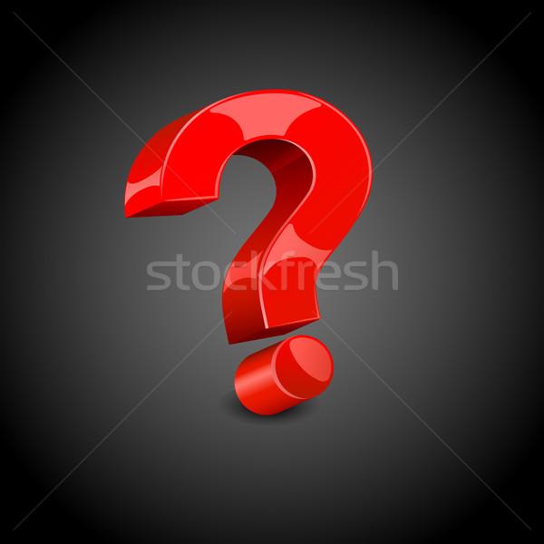 Question Mark Stock photo © vectomart
