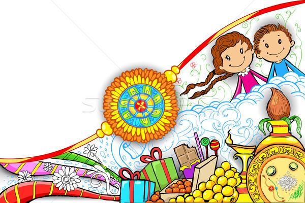 Illustrazione design sfondo regalo religione dolce Foto d'archivio © vectomart