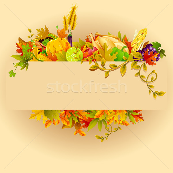 Thanksgiving Celebration Stock photo © vectomart