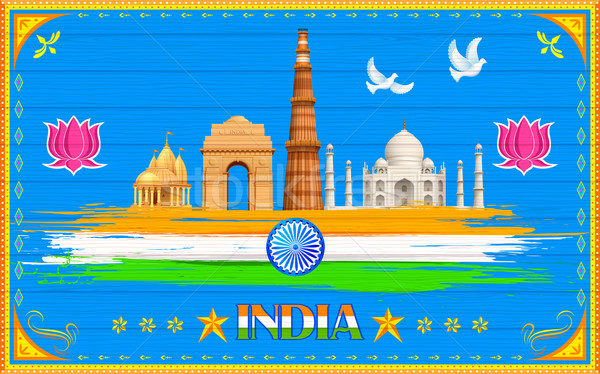 India Background Stock photo © vectomart
