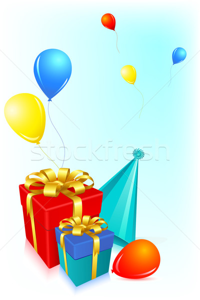 Birthday Card Stock photo © vectomart