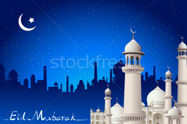 Eid Mubarak Stock photo © vectomart