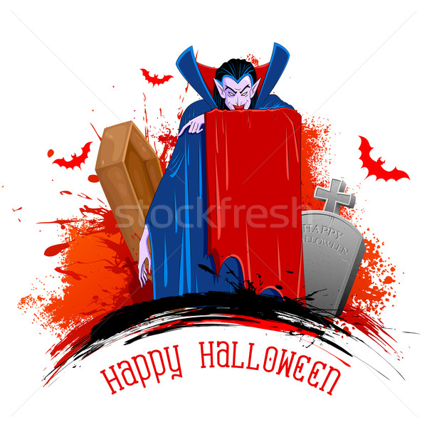 Dracula Stock photo © vectomart