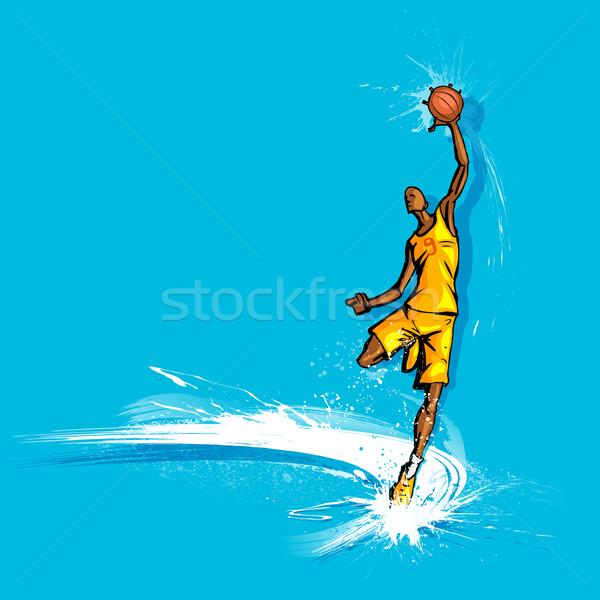 Basketball Player Stock photo © vectomart