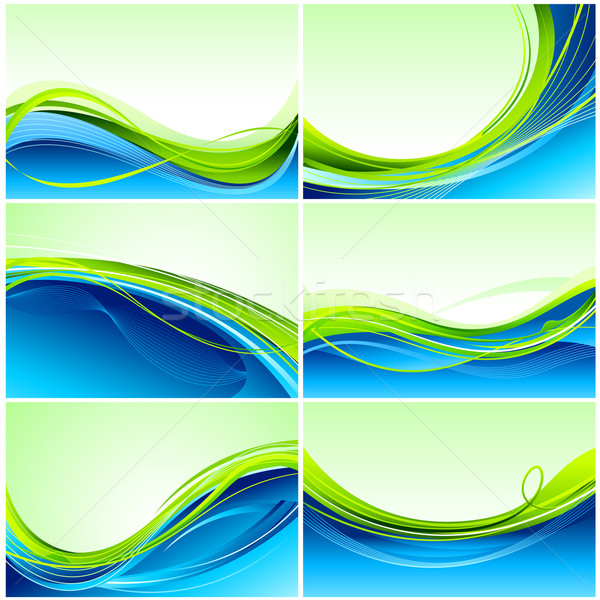 Set of Background Stock photo © vectomart
