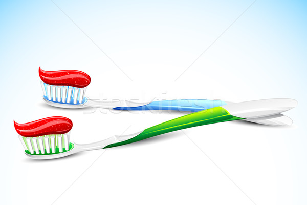 Tooth Brush Stock photo © vectomart