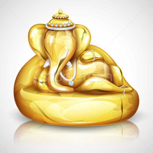 Lord Ganesha Stock photo © vectomart