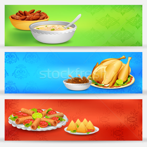 Iftar party Banner Stock photo © vectomart