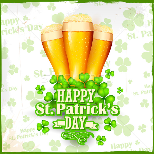 Saint Patrick's Day background Stock photo © vectomart