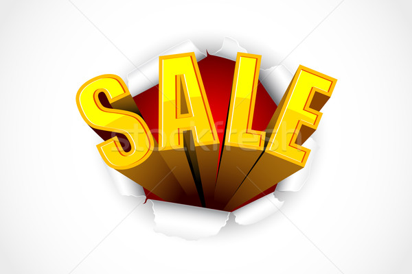 Sale Tag Stock photo © vectomart