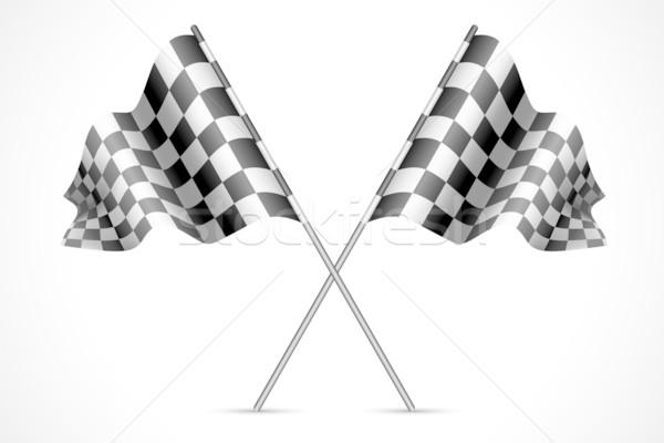 Race Flag Stock photo © vectomart
