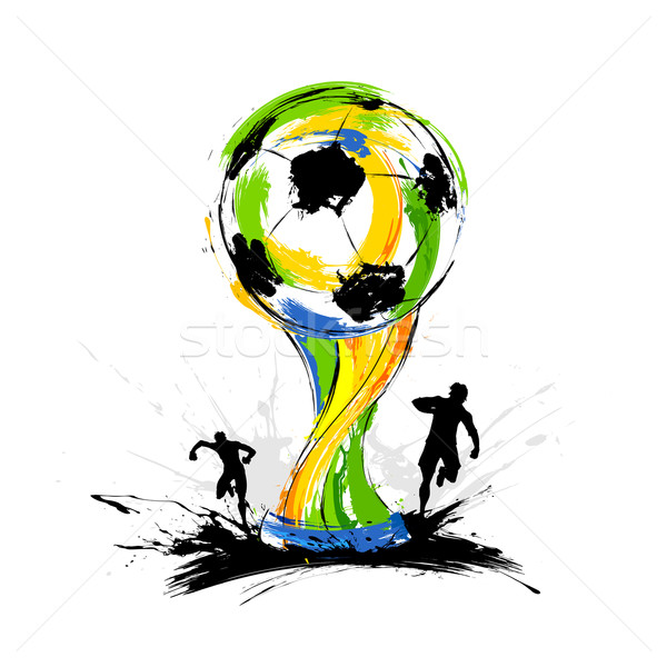 Football World Cup background Stock photo © vectomart