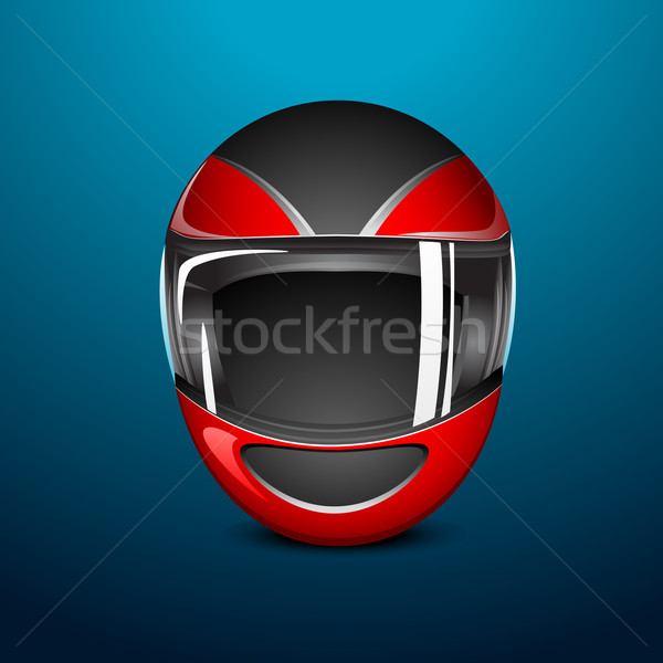 Bike Helmet Stock photo © vectomart