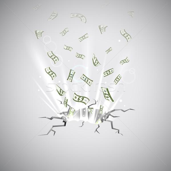 Dollar Blast Stock photo © vectomart